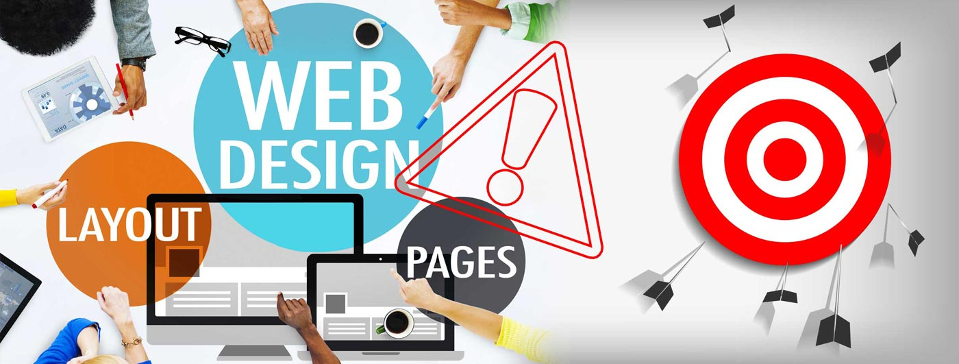 4 common Web Design Mistakes That Will Affect Your SEO